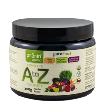 Wholefood A to Z vitamins and minerals by Pranin